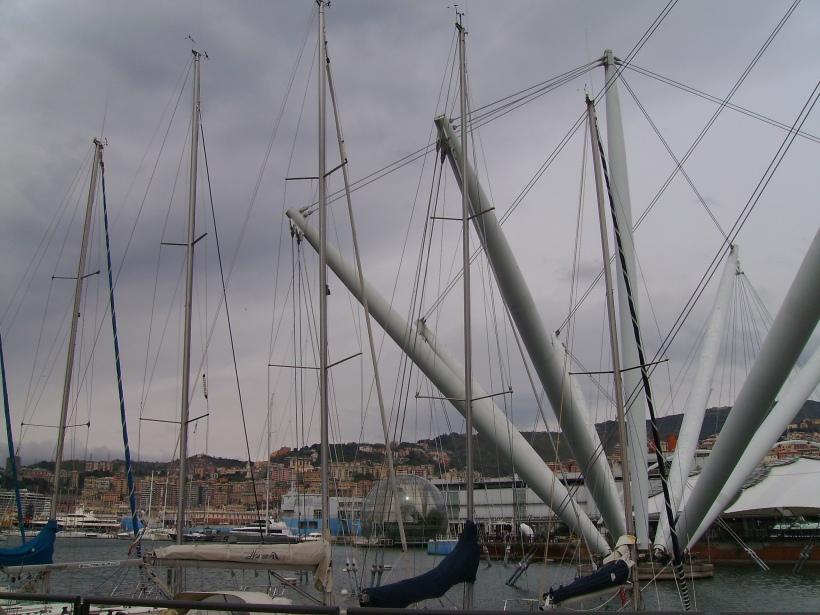 Genova - Bigo, Biosfera e Acquario