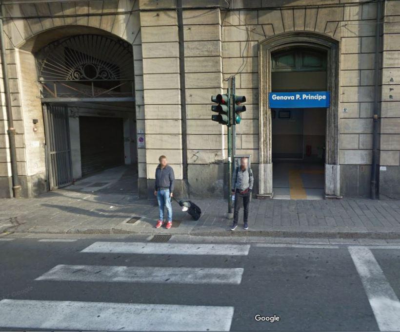 Genova Piazza Principe - Uscita Via Doria
