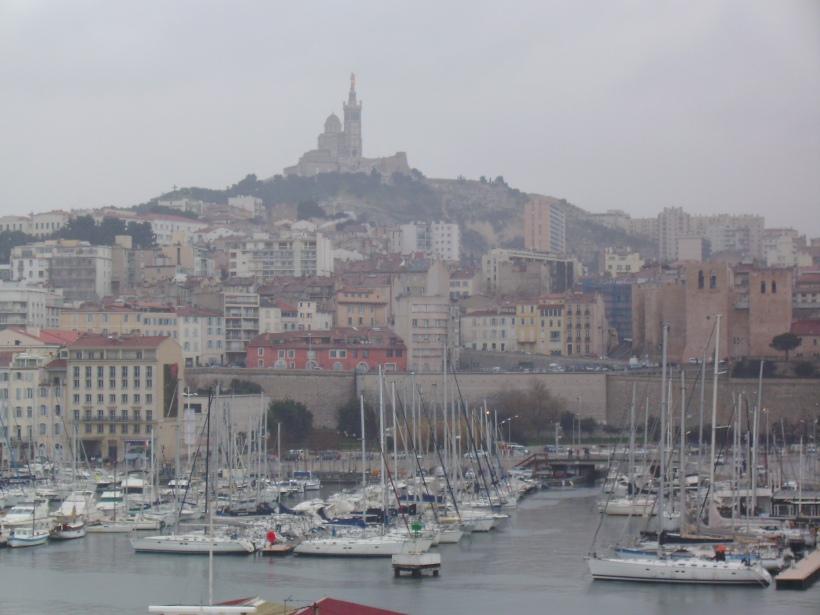 Marsiglia - Veduta di Notre Dame de la Garde