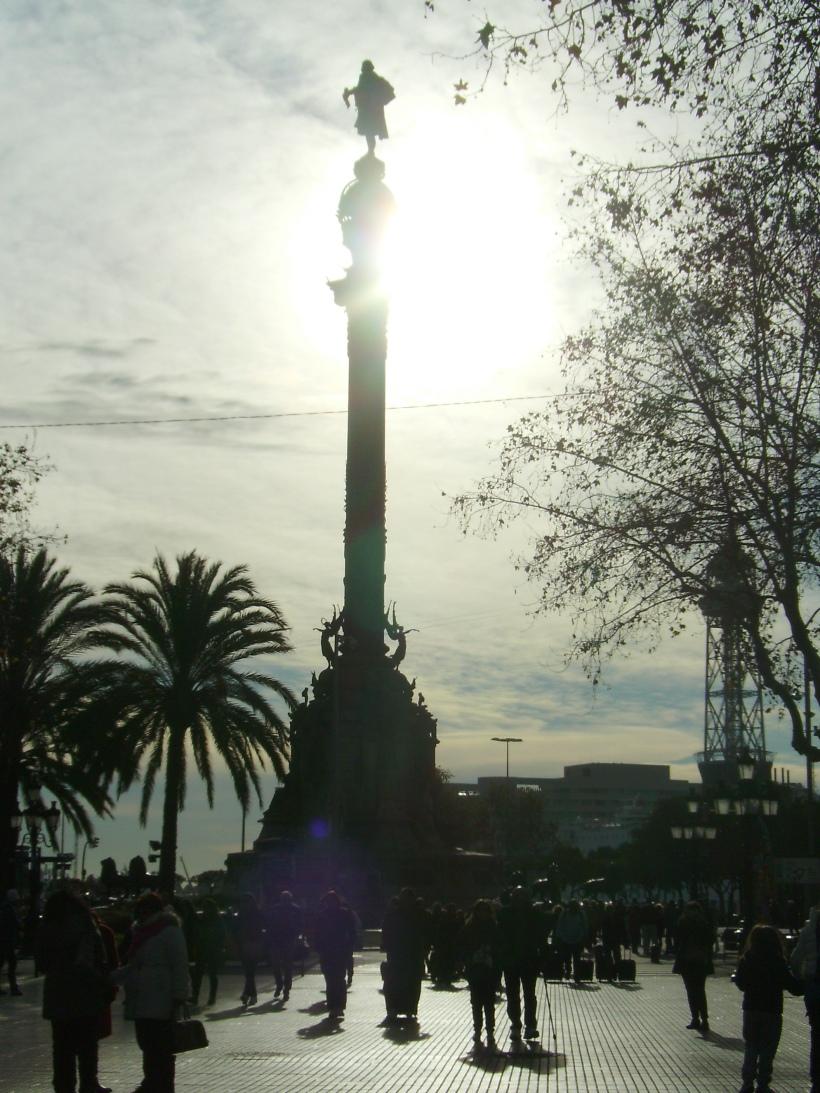 Barcellona - Monumento a Colombo