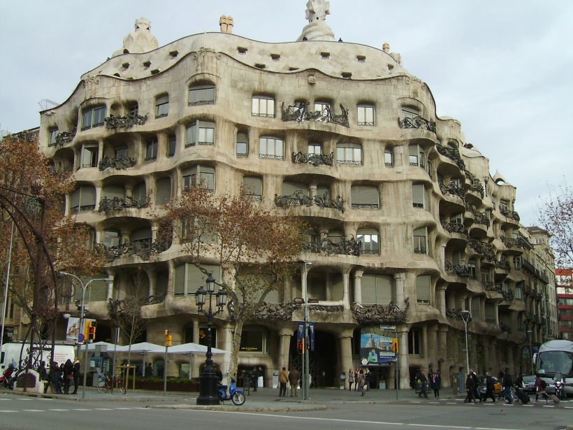 Barcellona - La Pedrera (esterno)