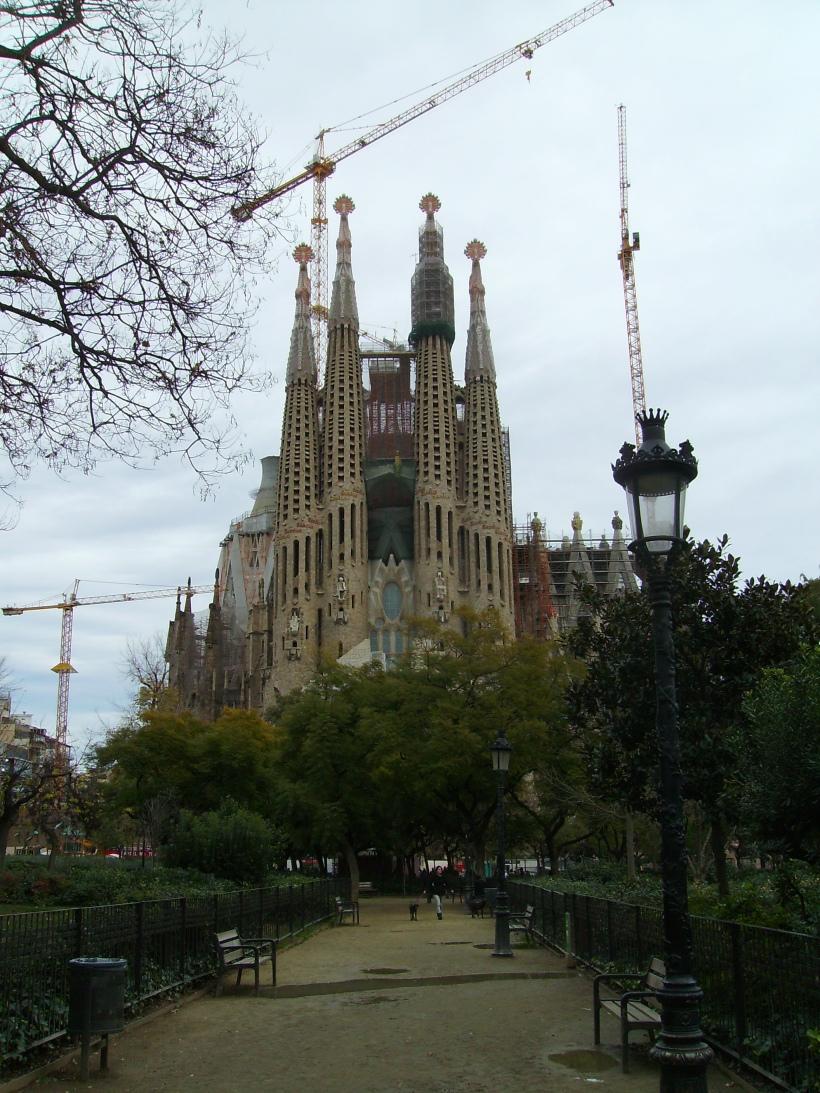 Barcellona - Sagrada Familia (esterno)